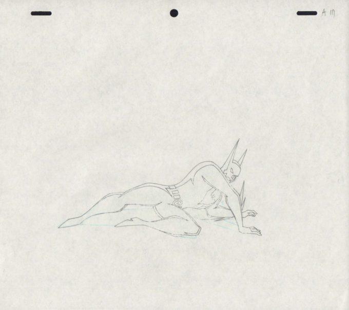 A/1 (folia animacyjna + tło)
