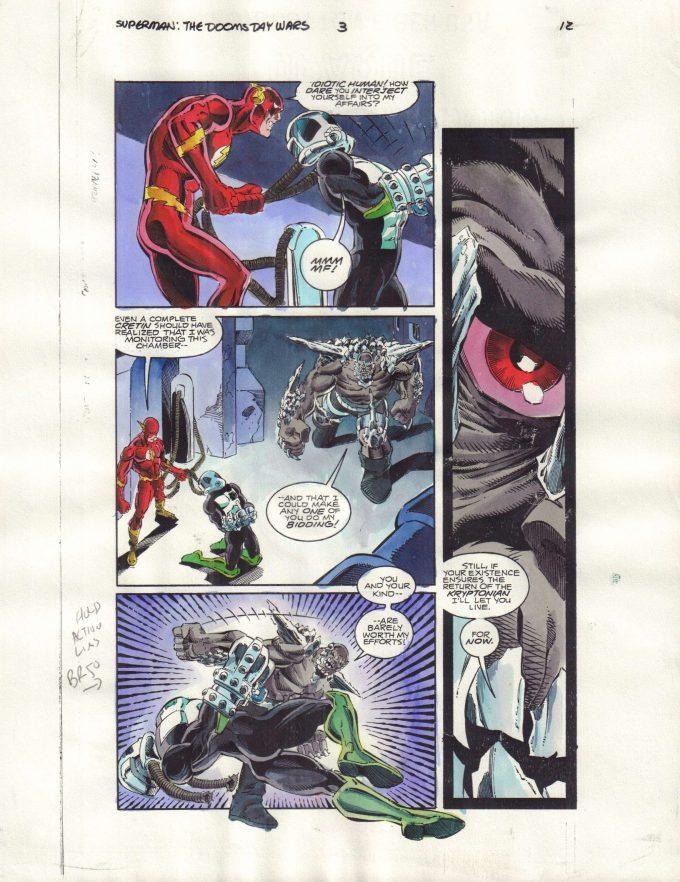 Superman: The Doomsday Wars #3