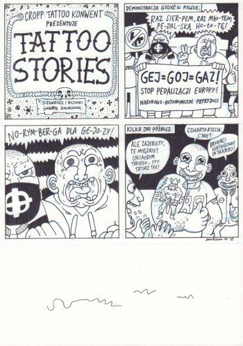 Tatoo Stories: Gej - Goj - Gaz