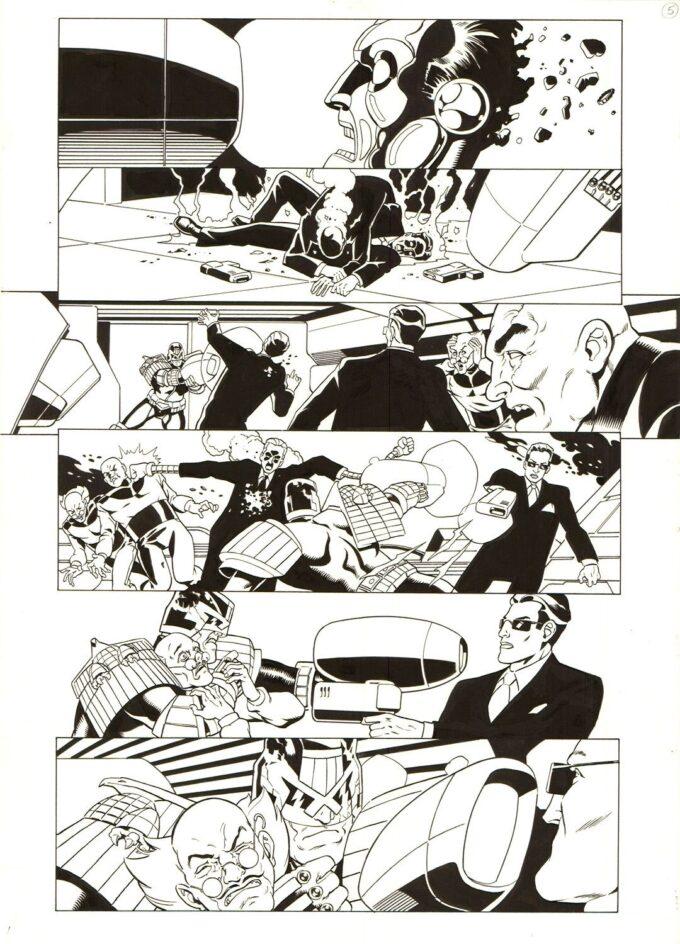 Judge Dredd #1287 / 5