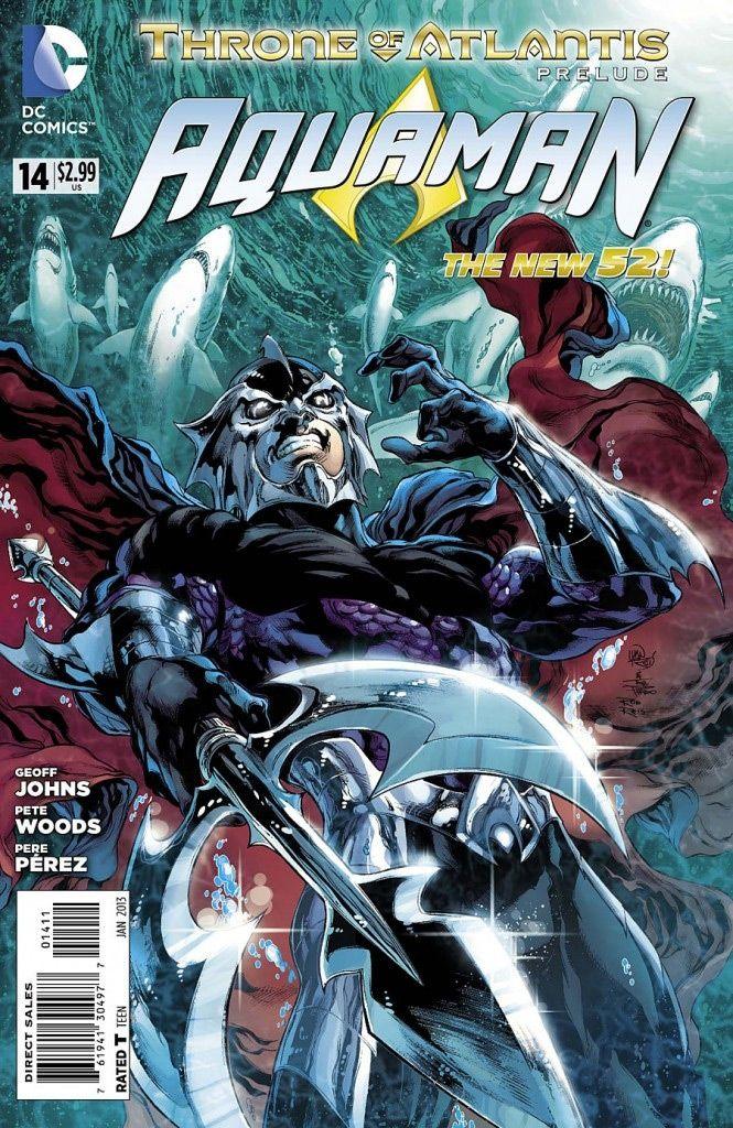 Aquaman #14 / 3 czarno-biały