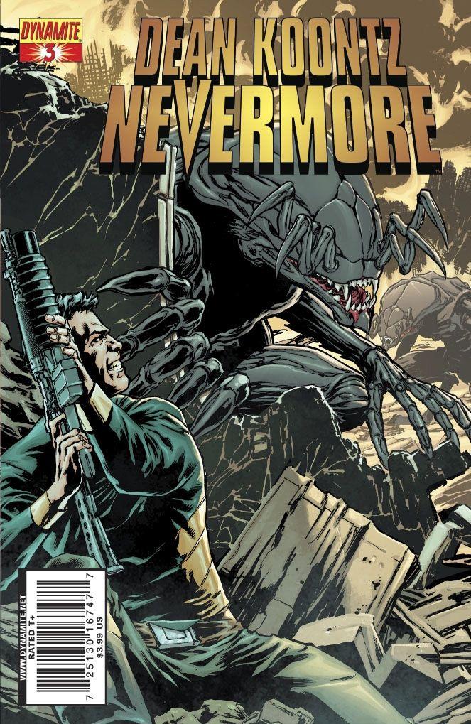 Koontz's Nevermore #3 / 2 czarno-biały