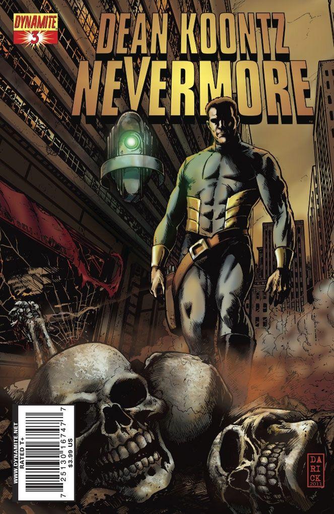 Koontz's Nevermore #3 / 17 czarno-biały