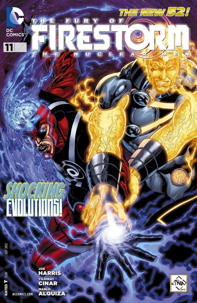 Fury of Firestorm #11 / 11 czarno-biały