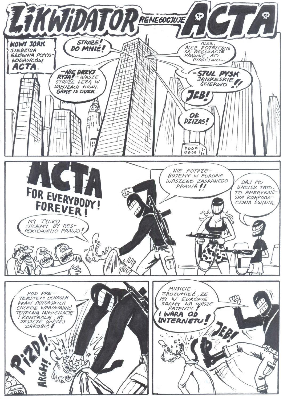 Likwidator Ełro '12: Likwidator renegocjuje Acta