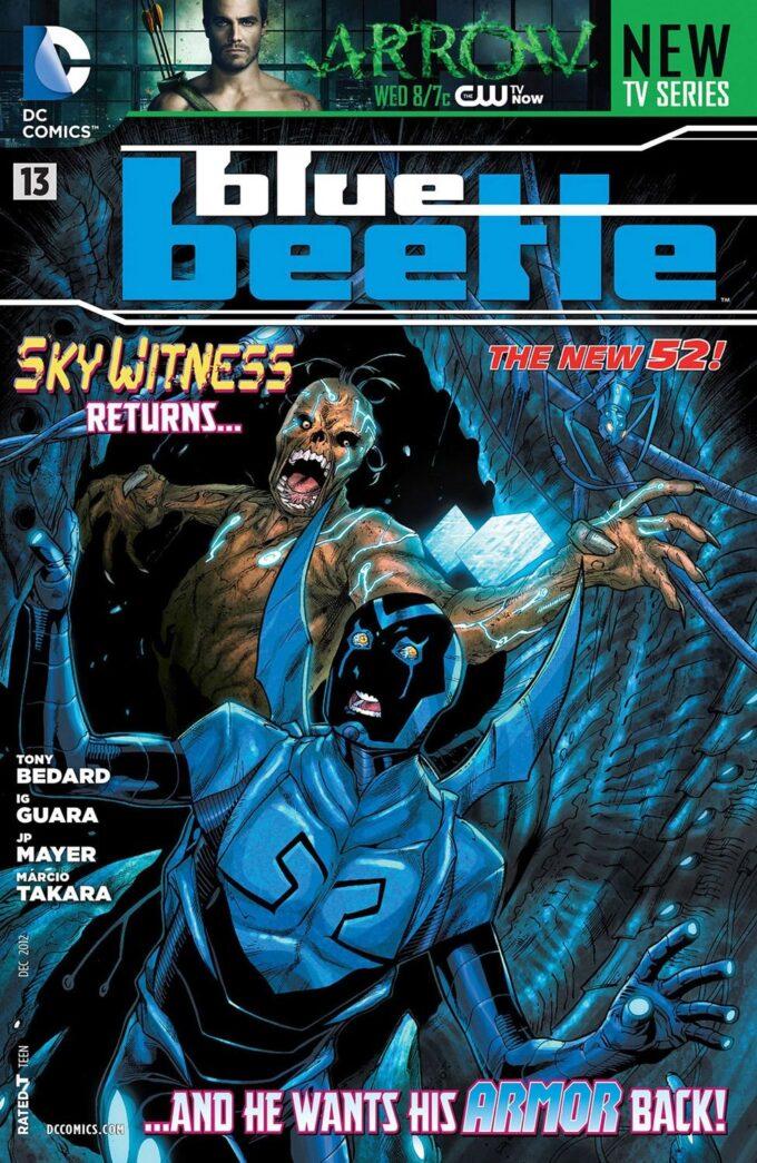 Blue Beetle #13 / 2 czarno-biały